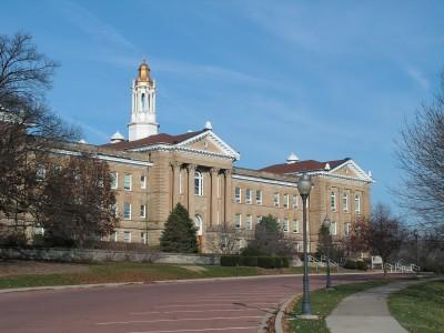 Sherman Hall at Western Illinois University.