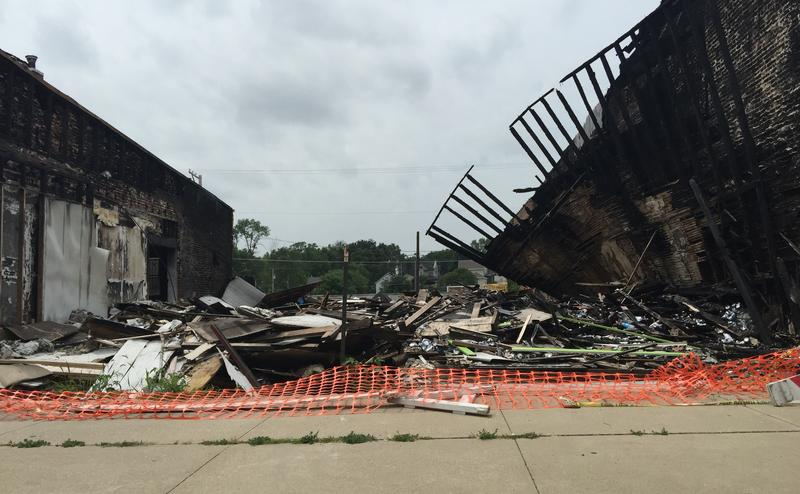 Fire destroyed Keokuk's previous redemption center. The city council denied a request Thursday night to open a new one a few blocks away.