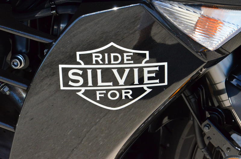 A motorcyle ride was held in the honor of Silven Yocum.