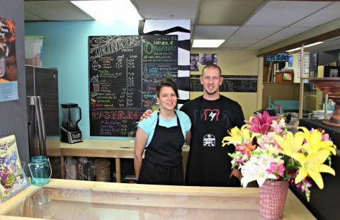 Kristie and Drew Harper opened a small bistro in Brookfield, Missouri. Town leaders are courting other businesses in an effort to grow the local economy.