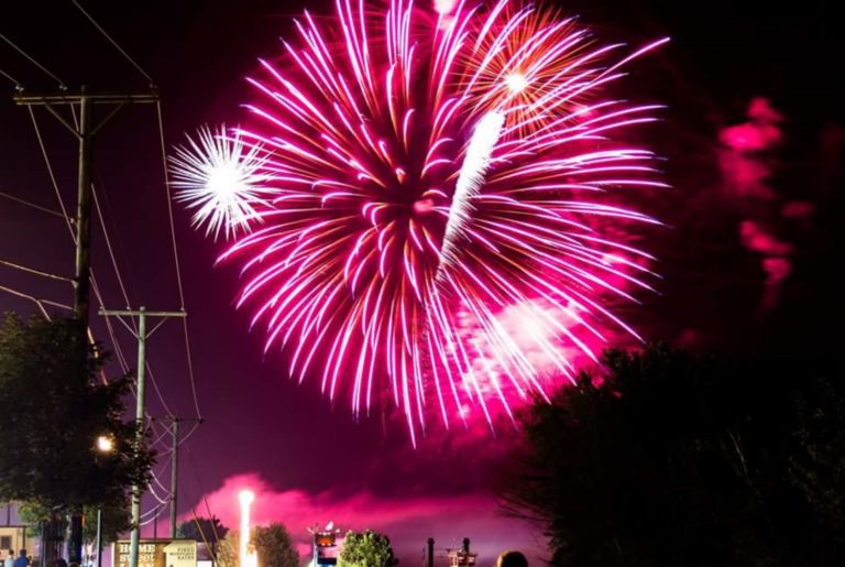 Brad Sturgeon and the rest of his shoot team will handle the fireworks display this year at the 30th annual Tugfest in Le Claire, Iowa. For the event, they'll shoot fireworks off from a barge in the middle of the Mississippi River.