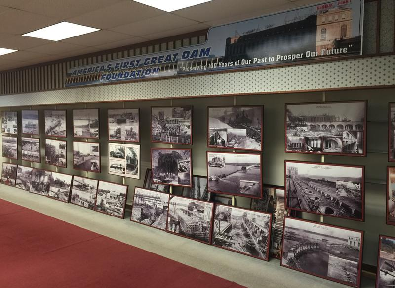 The museum only has some photographs on display in anticipation of construction work in the near future.