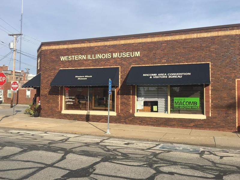 The Macomb Area Convention and Visitors Bureau is housed in the same building at the Western Illinois Museum