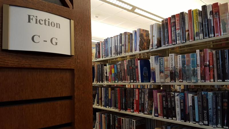 There is no shortage of fiction at the Macomb Public Library.