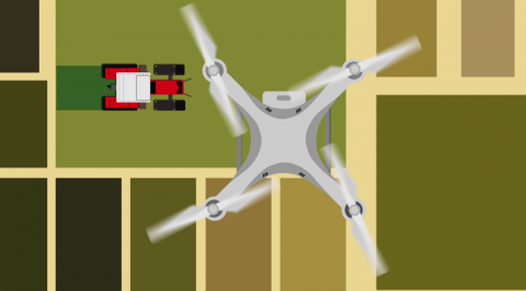 Aerial Imagery is the most common use for drones in agriculture. Taking inch-by-inch resolution imagery allows for precise use of chemicals and the detecting issues with equipment.