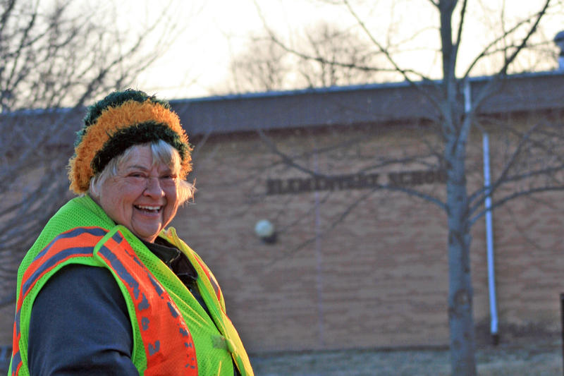 Jeanie Plate was a fixture as the crossing guard in Good Hope, a town of around 400 souls just north of Macomb.