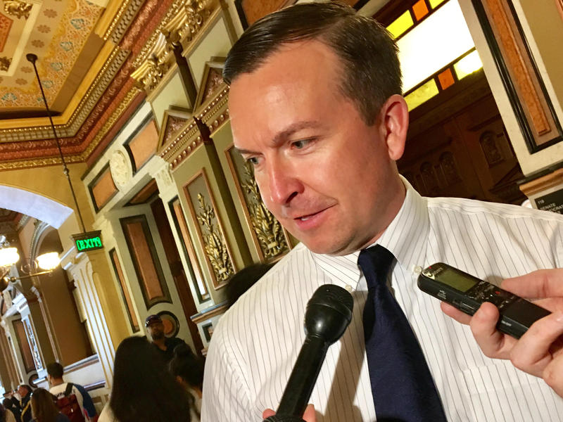 Illinois State Senator Andy Manar (D-Bunker Hill)