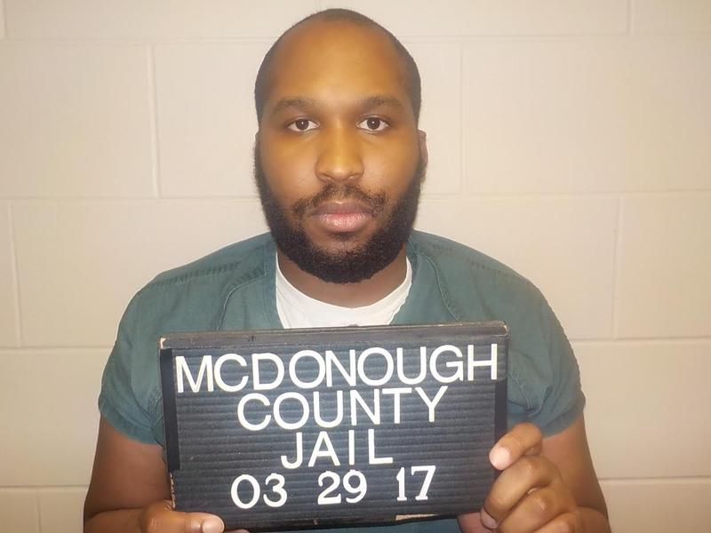 Kevin Corridon is accused of threatening to carry out a mass shooting in McDonough County.