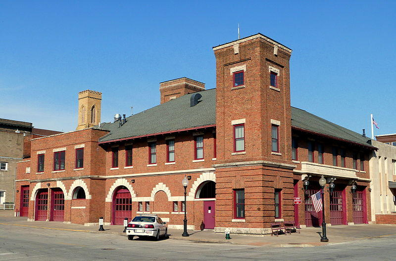 The Burlington Central Fire Station