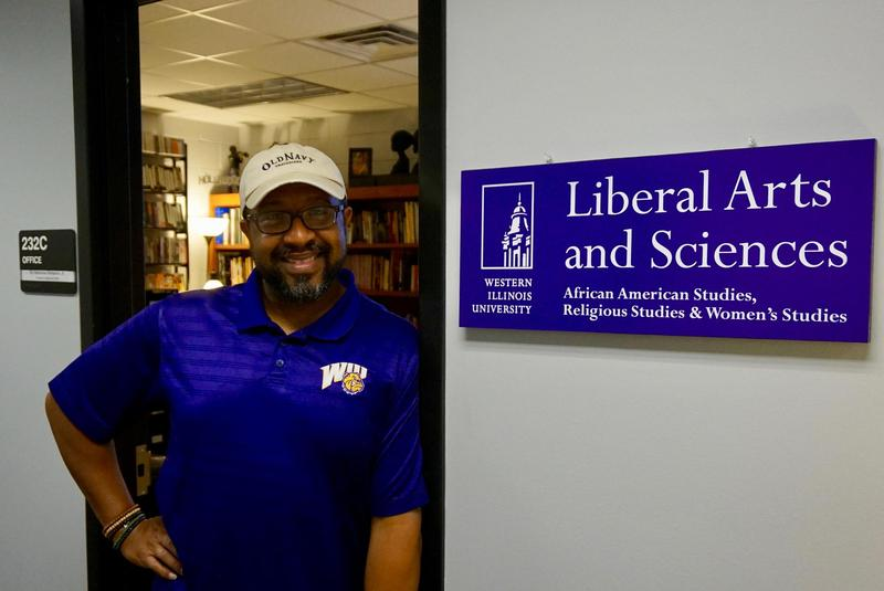 Dr. Alphonso Simpson, Jr. is the chair of the new Department of Liberal Arts and Sciences at WIU.
