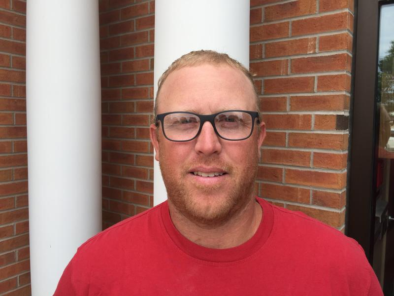 Brad Menke of West Point is one of six people running for three seats on the Fort Madison School Board.
