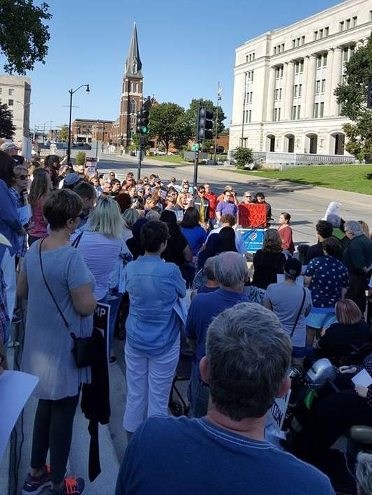 The recent DACA rally in Springfield, IL