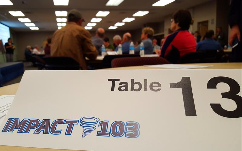 Around 100 people attended Impact 103's first Community Engagement Session.