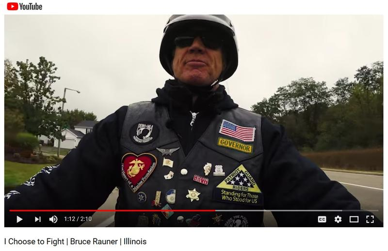 Screen Capture from Rauner's Ad on YouTube