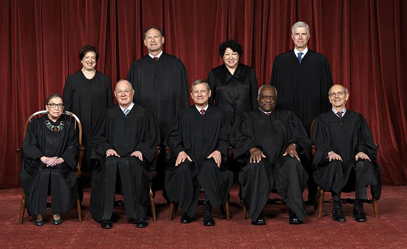 The current U.S. Supreme Court