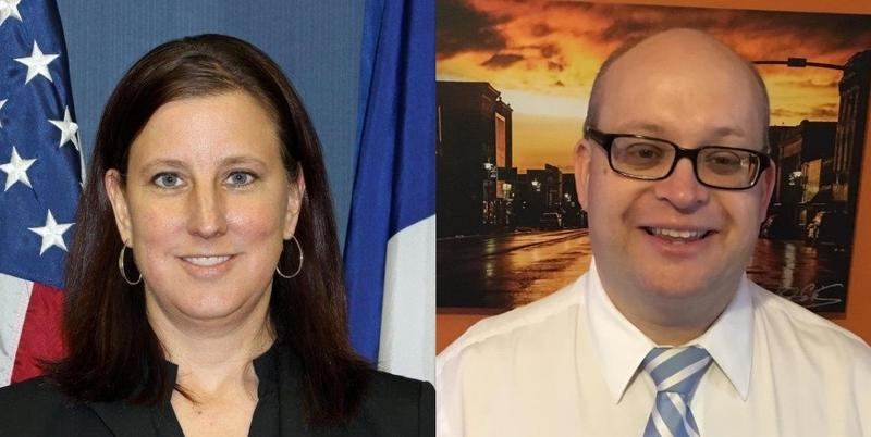 Des Moines County Attorney Amy Beavers and Lee County Attorney Clinton Boddicker applied to replace District Associate Judge Gary Noneman, who is retiring after 30 years on the bench.