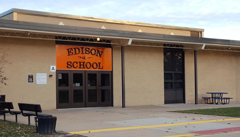 Edison School would gain classrooms and lose its modular units as part of the bond issue.