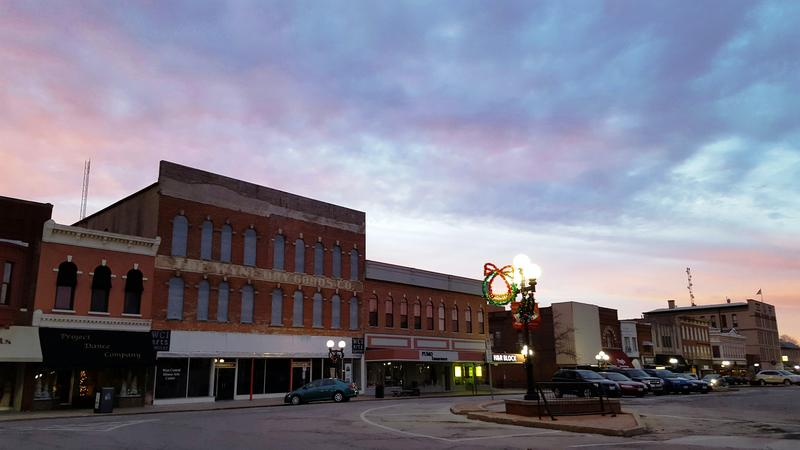 The West Central Illinois Arts Center owns the former Wyne Dry Goods building on Macomb's courthouse square.