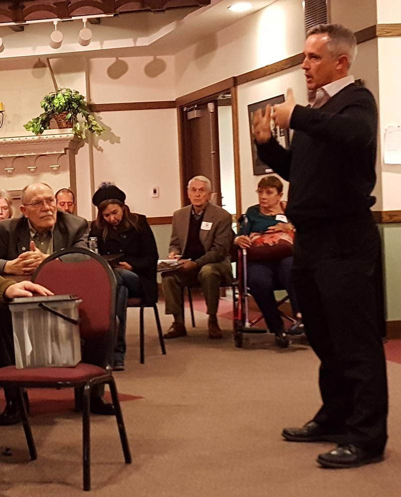 Brian Deters is running for congress.