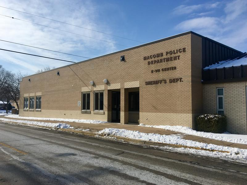 The McDonough County 911 Dispatch Center, Macomb Police and McDonough County Sheriff's Department share a building in Macomb