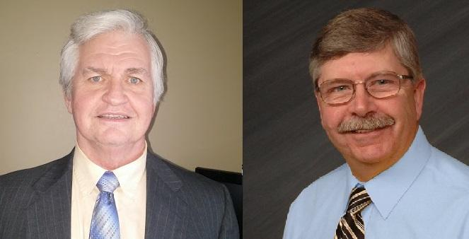 (L-R) Jeff Kurtz (D-Fort Madison) and Bob Morawitz (D-Fort Madison) are seeking their party's nomination in Iowa House District 83.