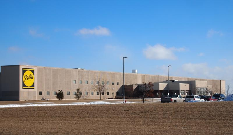 Pella's manufacturing plant in Macomb, Illinois