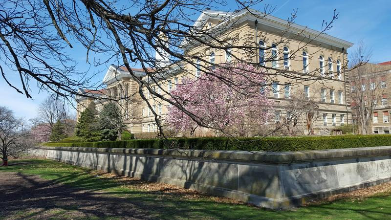 Sherman Hall is the administration building at WIU.