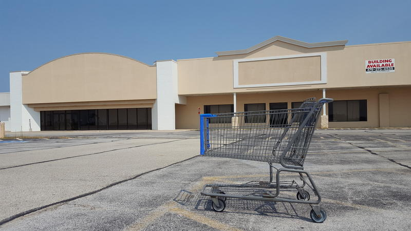 The former JCPenney store previously housed Walmart, which moved to a bigger building in Macomb
