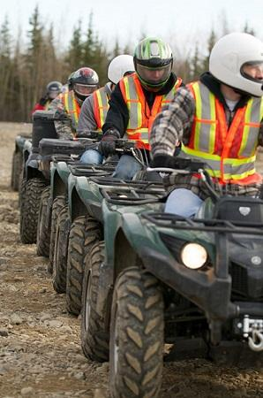 ATV's/UTV's can now be driven legally on gravel roads in Des Moines County