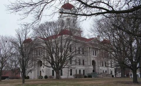Hancock County courthouse