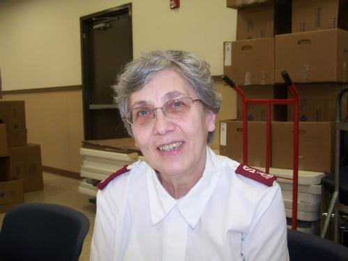 Major Diana Amick of the Salvation Army of Lee County