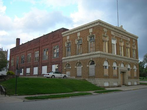 The former Eagles building in Keokuk is being renovated for high-end apartments.