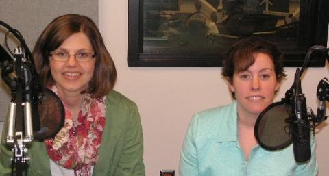 Amy McCallister and Lynette Cale of the McDonough Co. Health Dept.