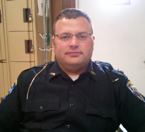 Patrolman Robb Bell will become Hamilton's Police Chief on July 1.