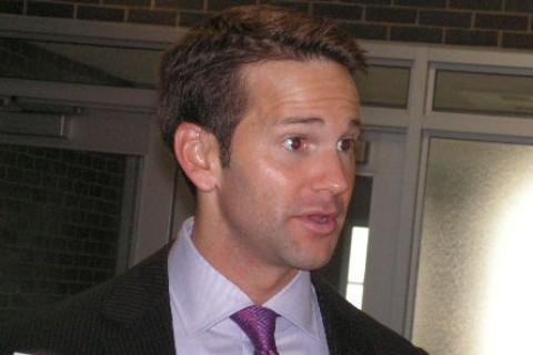 Rep. Aaron Schock (R-18, IL) at Macomb High School