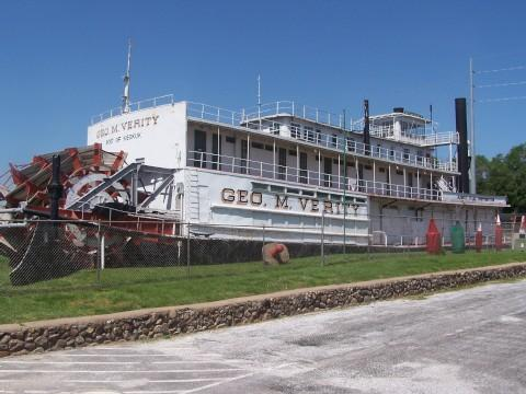 The George M. Verity Riverboat