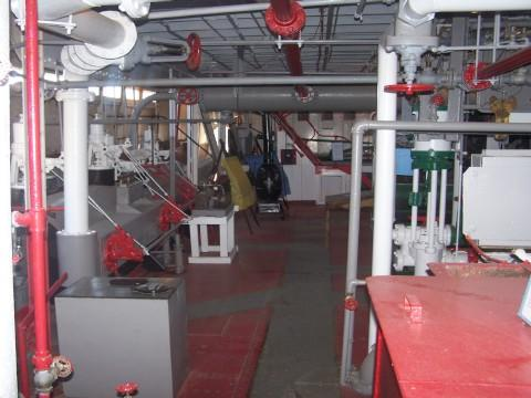 Another view inside the riverboat museum