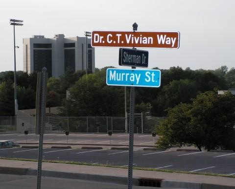 A portion of Murray St through the WIU campus is named in honor of Vivian