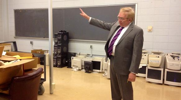 Dr. Tom Erekson describes the future plans for Stipes Hall room 111
