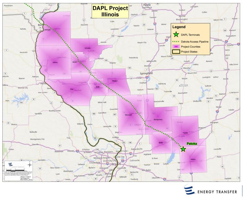 Crude Oil  The Dakota Access Pipeline A Closer Look