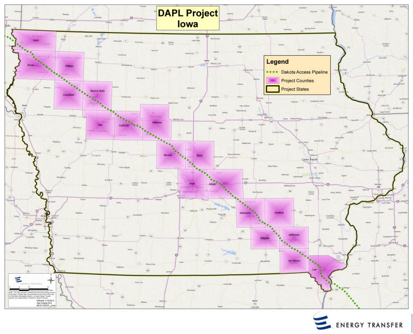 Crude Oil The Dakota Access Pipeline A Closer Look Tri States - North dakota rivers map