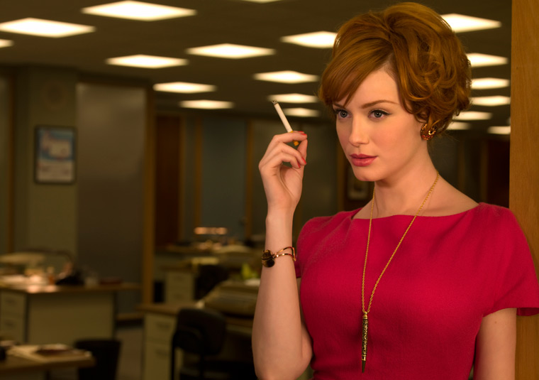 Who is redhead on madmen