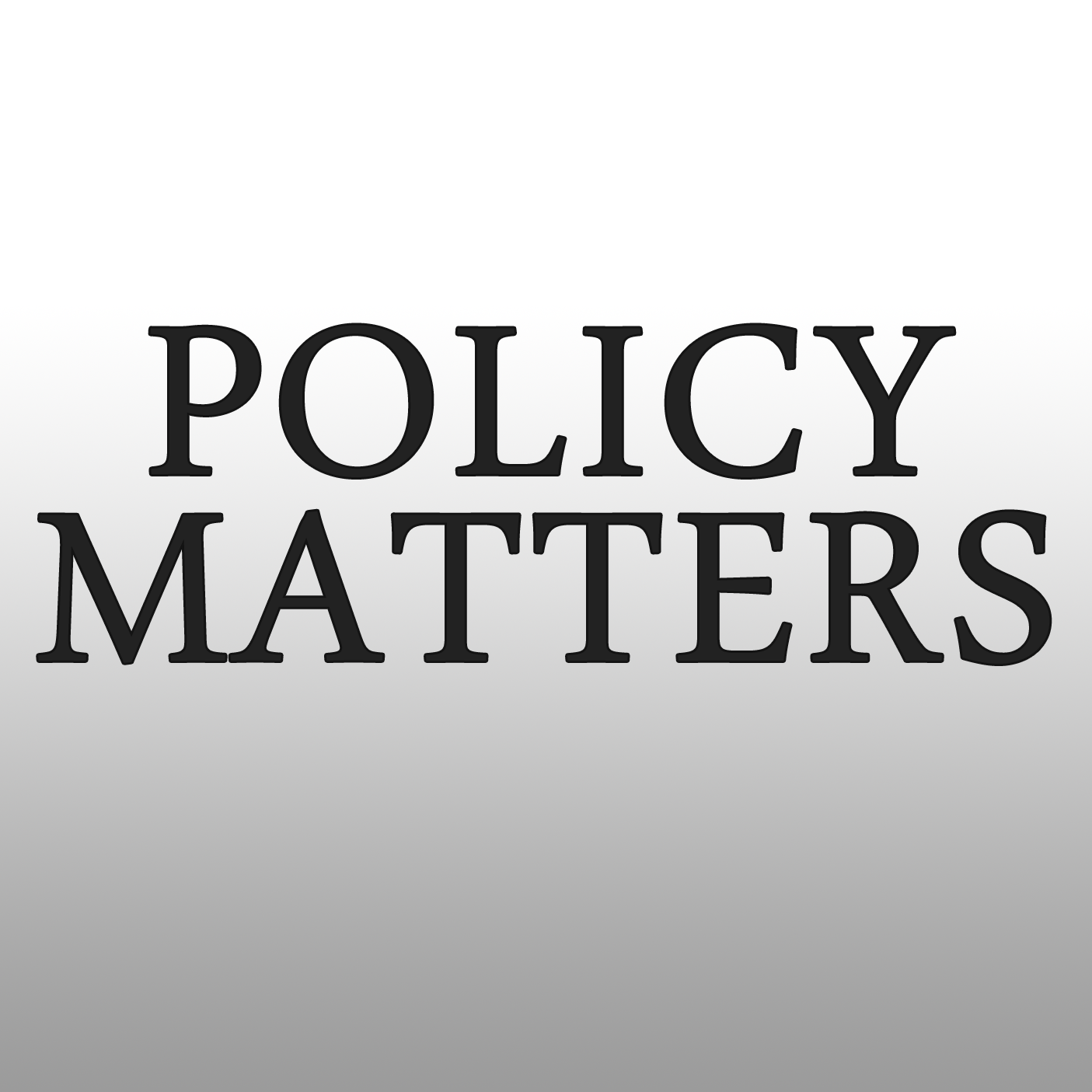 Policy Matters | WJCT