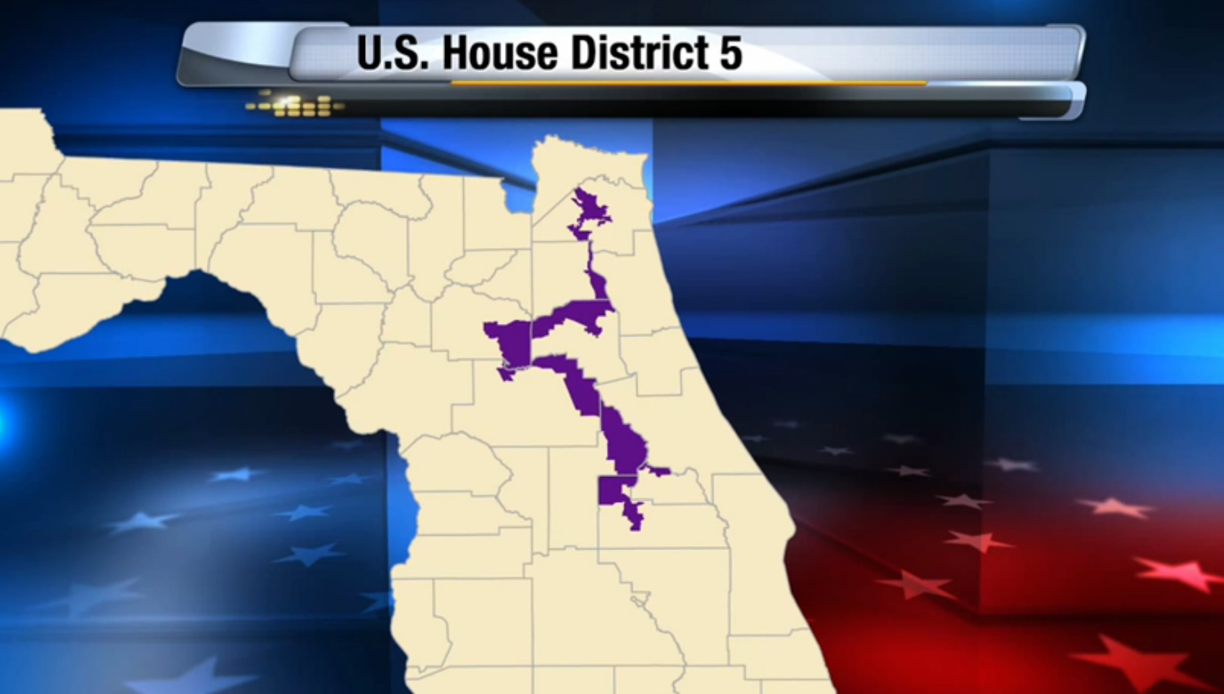 Media Roundtable Circuit Judge Strikes Down Florida Congressional - Map of florida us congressional districts