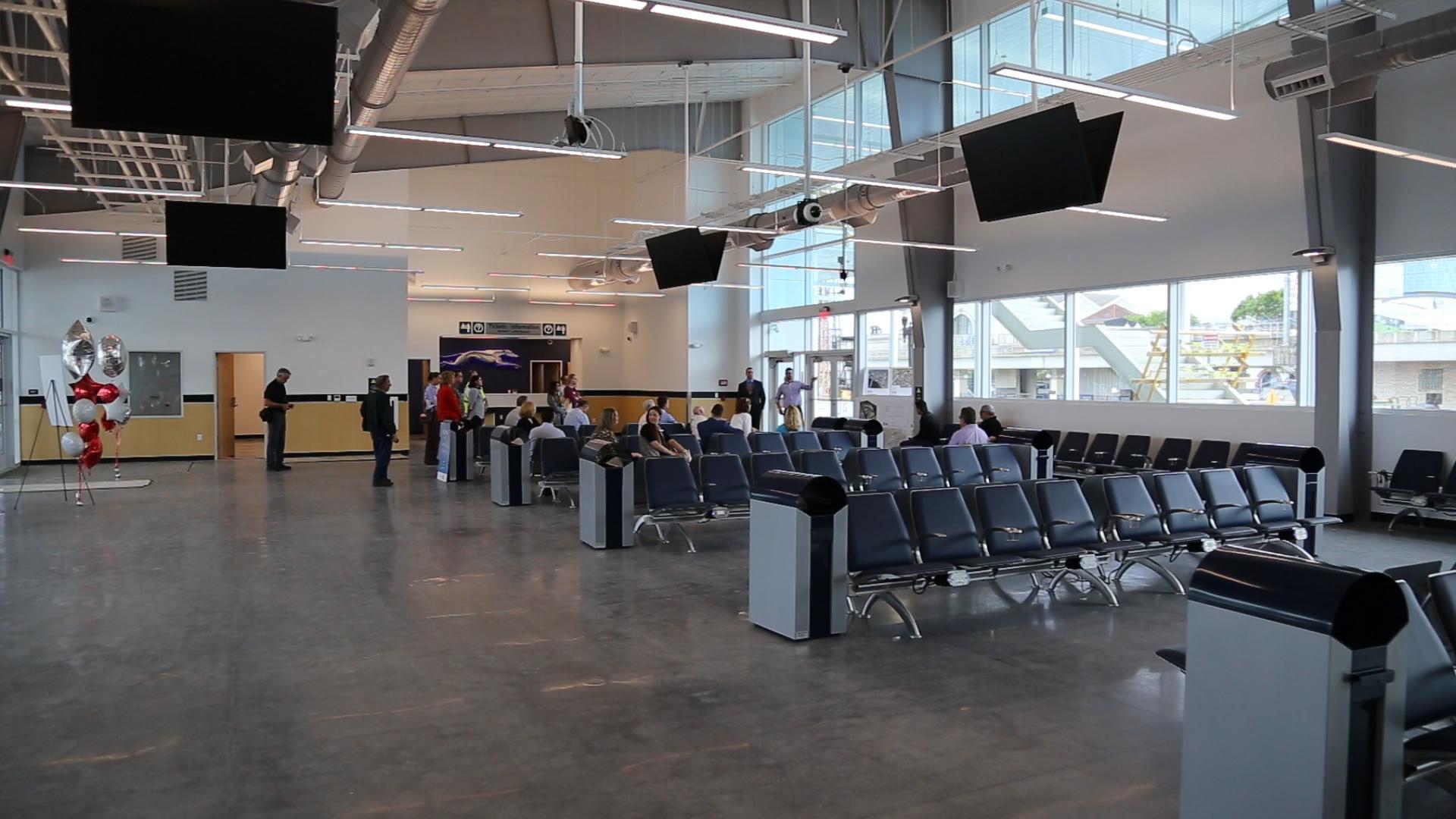 Video New Downtown Greyhound Bus Terminal Opens Next Week