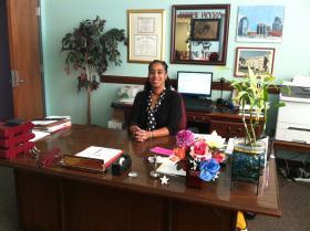 Andrew Jackson High School Principal Michele Floyd-Hatcher