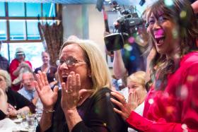 Peggy Walker get the surprise of a lifetime learning she is the 2013 HGTV Smart Home Winner.