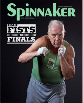 The cover of the Feb. 20, 2013 edition of The Spinnaker.