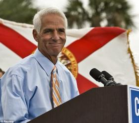 Former Republican governor turned Democratic gubernatorial candidate Charlie Crist.