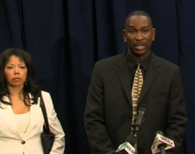 Lucia McBath and Ron Davis, parents of Jordan Davis